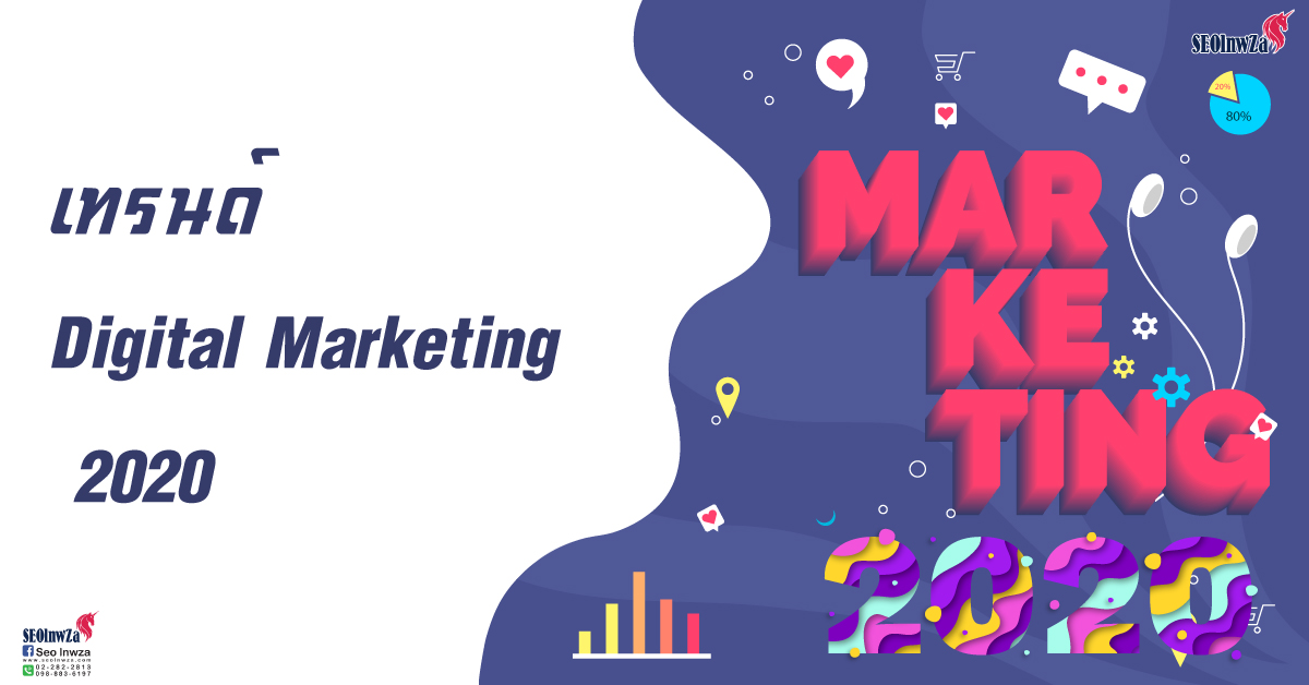 เทรนด์ Digital Marketing  2020