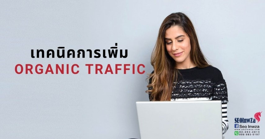เทคนิคการเพิ่ม Organic Traffic